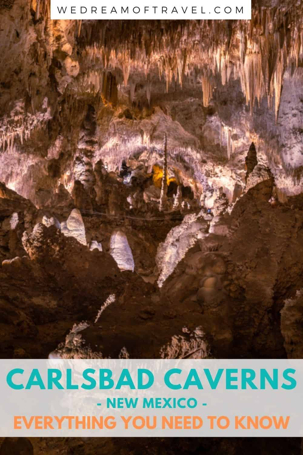 Discover everything you need to know about visiting Carlsbad Caverns in this ultimate guide.  Including the best things to do in Carlsbad Cavern National Park, New Mexico.