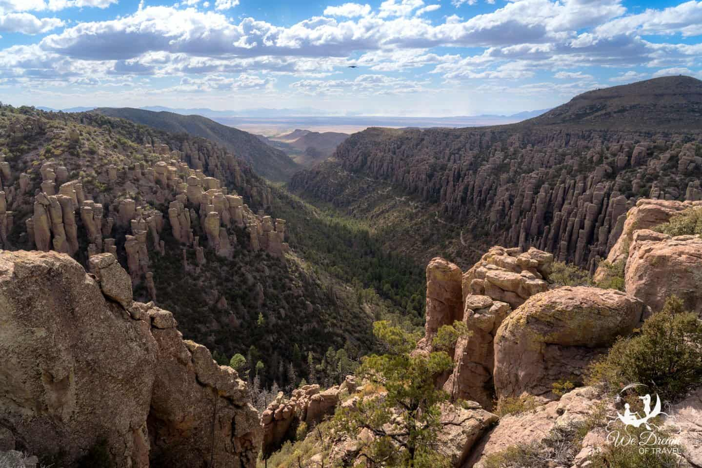 Inspiration Point was my favorite view for sunset in Chiricahua NM, but it is beautiful any time of day.