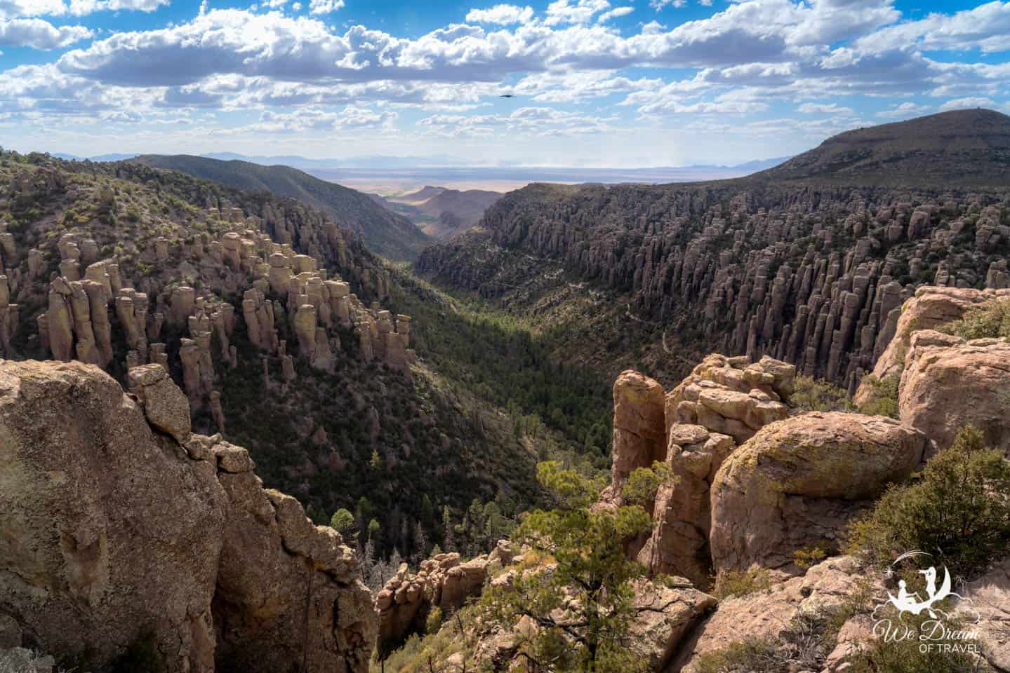 Landscape photography from Inspiration Point in Chiricahua NM