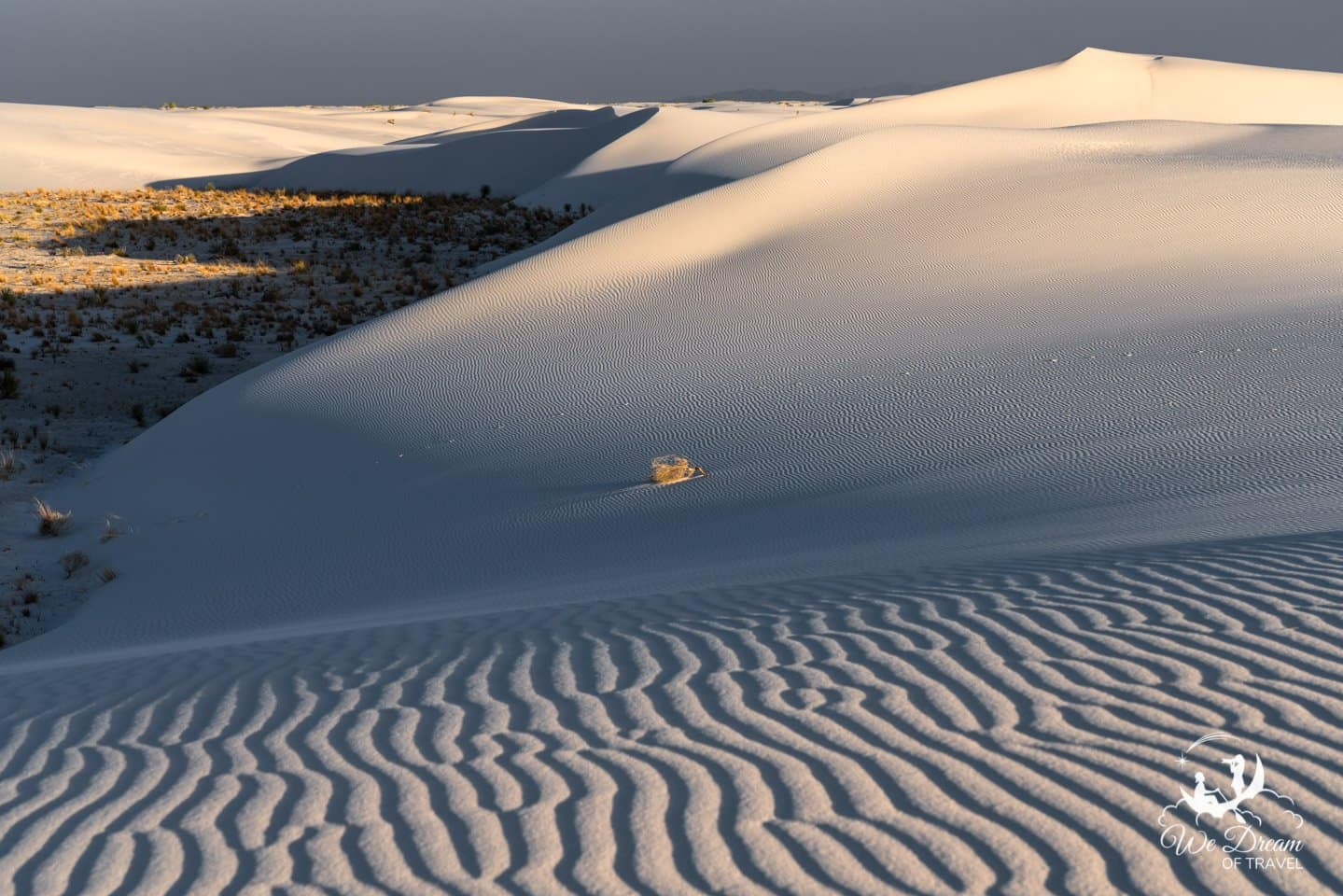 Landscape photography in White Sands National Monument.