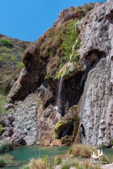Sitting Bull Falls waterfall is a desert gem!