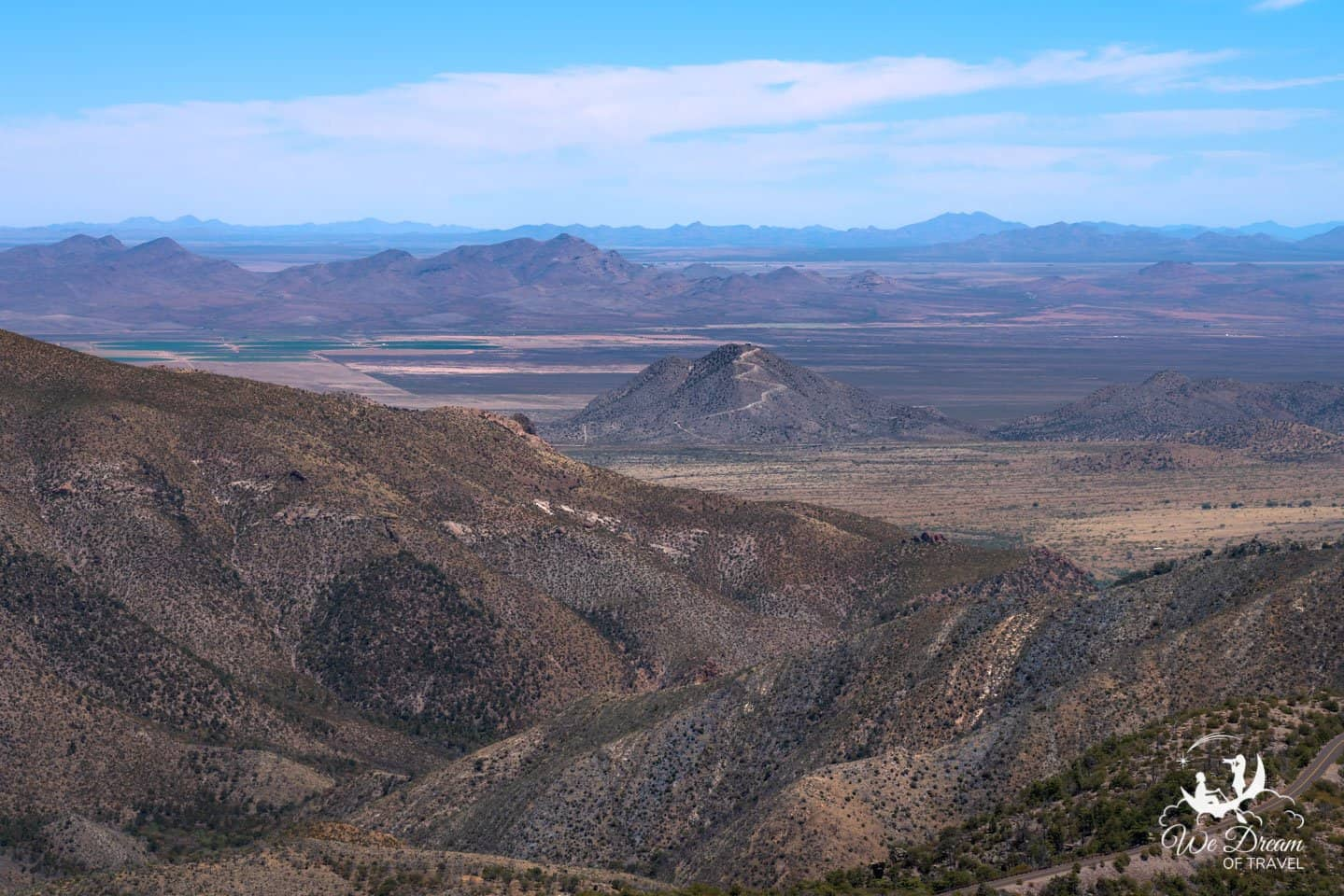 Enjoy the sweeping, 360 degree views of Chiricahua from the Sugarloaf Mountain Trail.