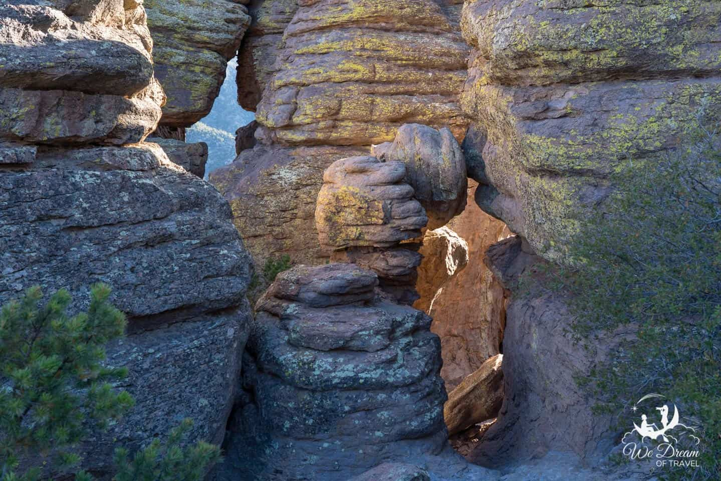 A view of The Grottoes of Chiricahua NM.