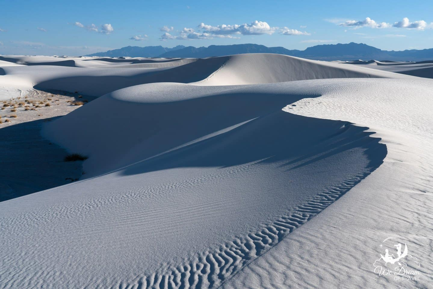 This late afternoon White Sands picture attempts to capture the essence of the park in a simple way.