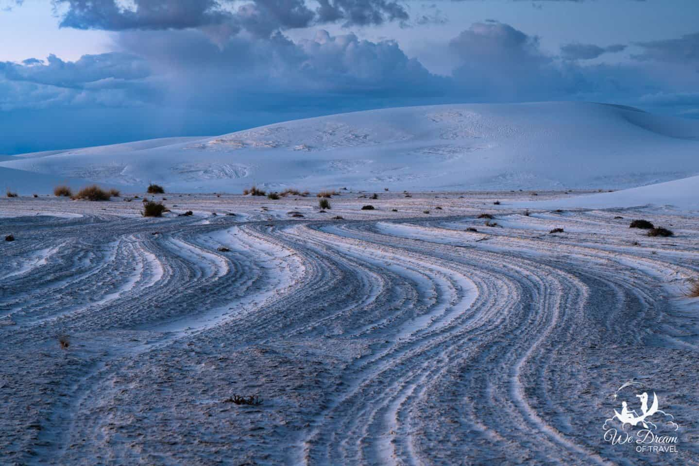 Nautical Twilight photography from White Sands NP.