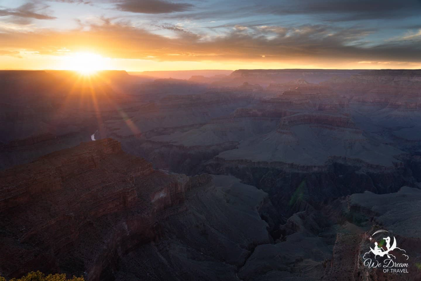 Grand Canyon sunset photography Hopi Point