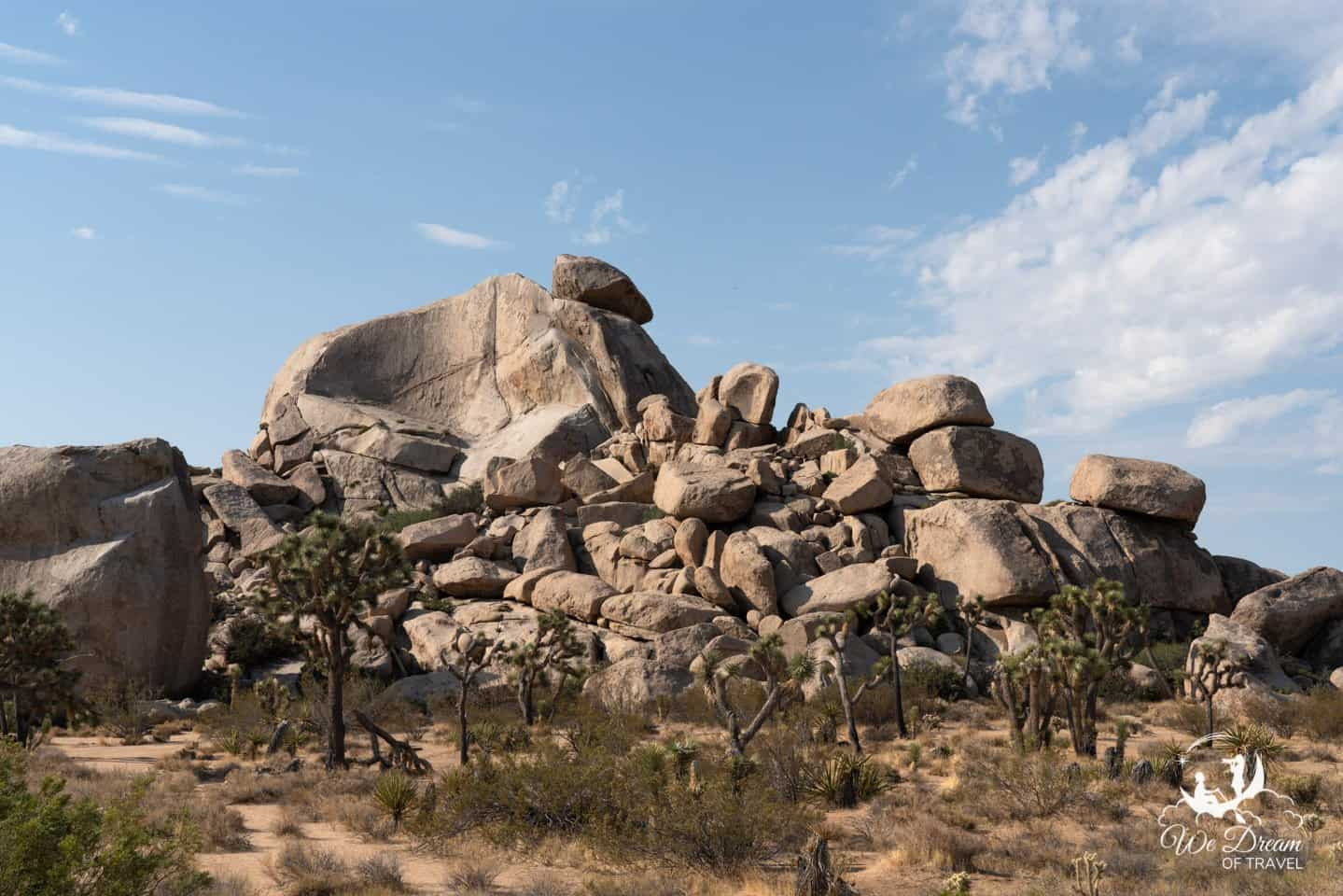 Cap Rock is a popular place for INstagram photography in Joshua Tree.