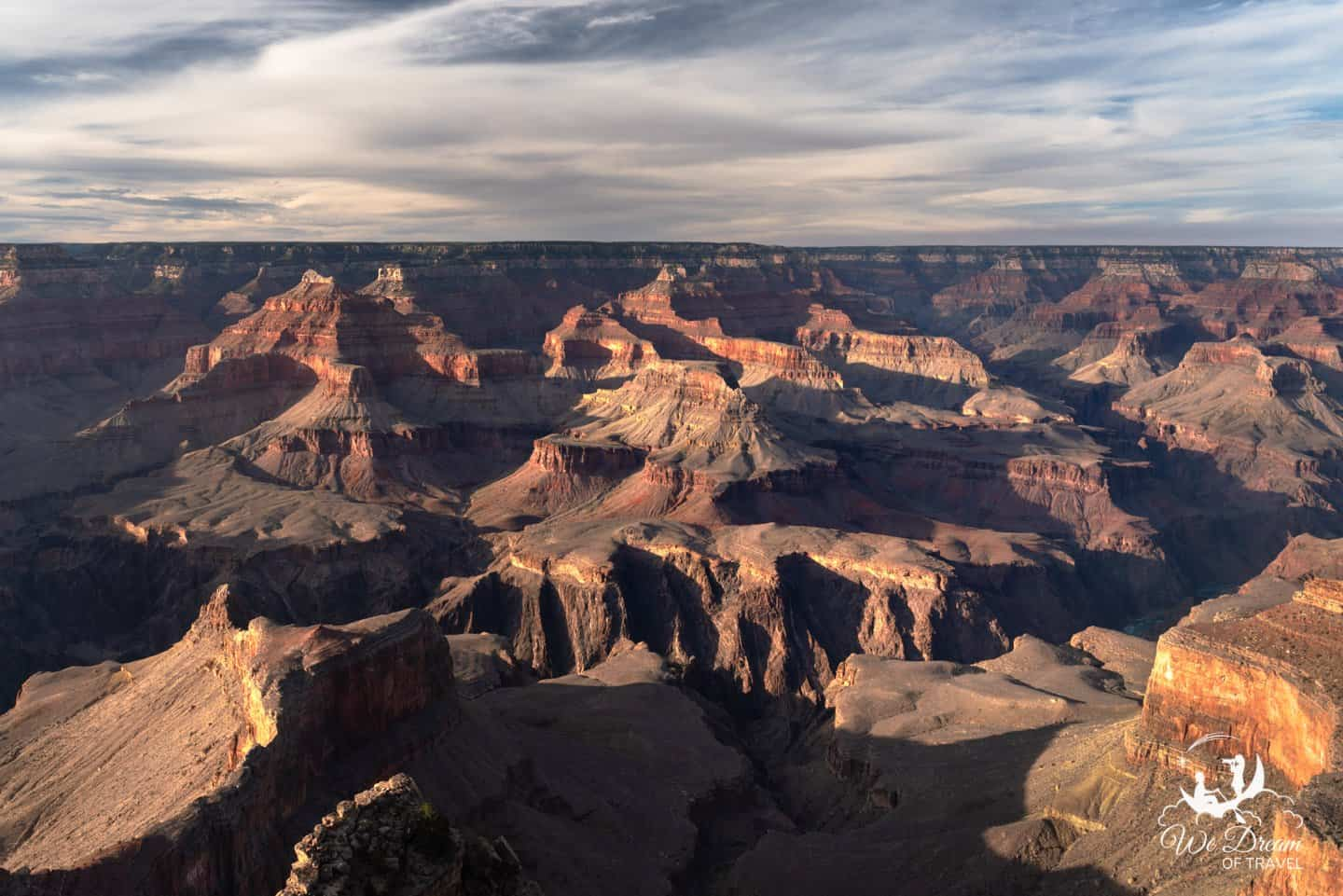 A photo from a recent daytrip to the Grand Canyon from the South Rim.