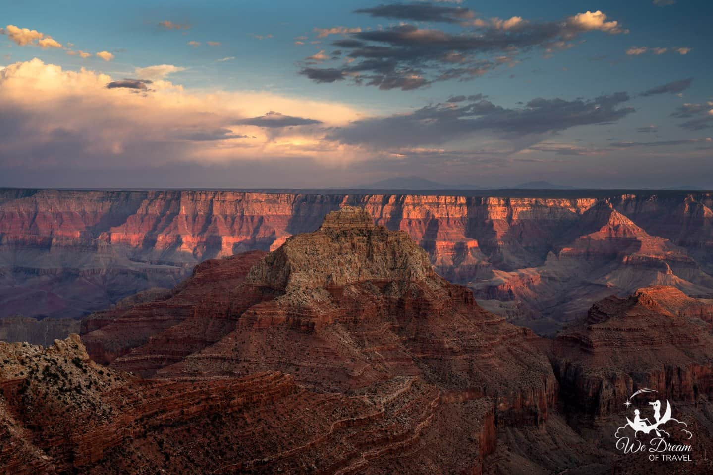 The North Rim of the Grand Canyon is worth visiting if time permits!