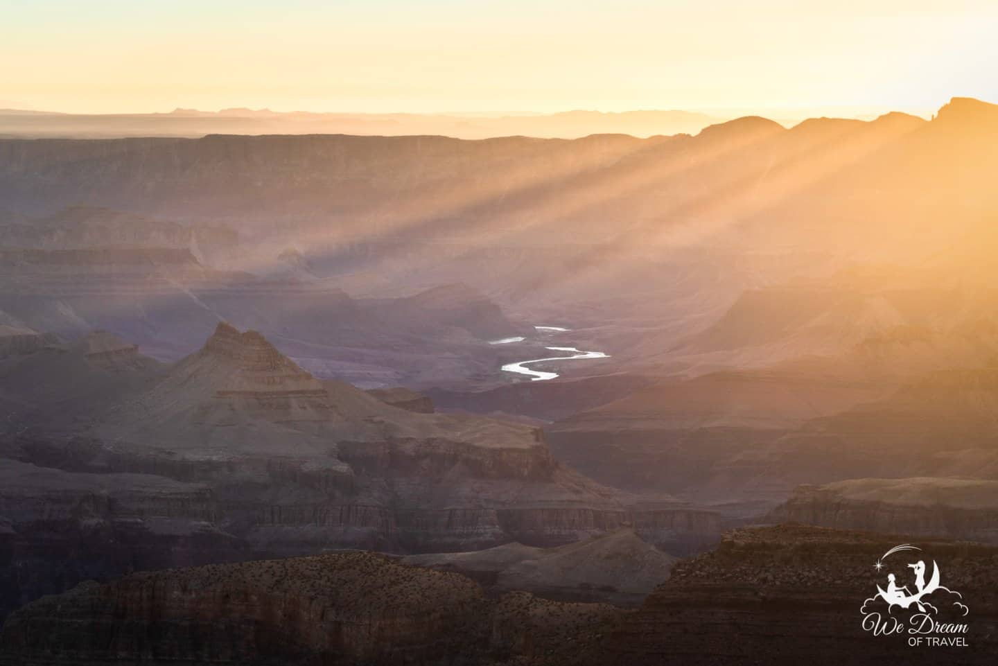 Sunset and sunrise are the best times to visit Grand Canyon.