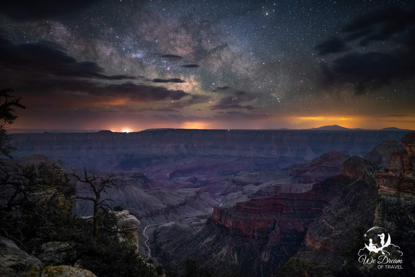 The North Rim is the best place in Grand Canyon National Park for Night Photography.