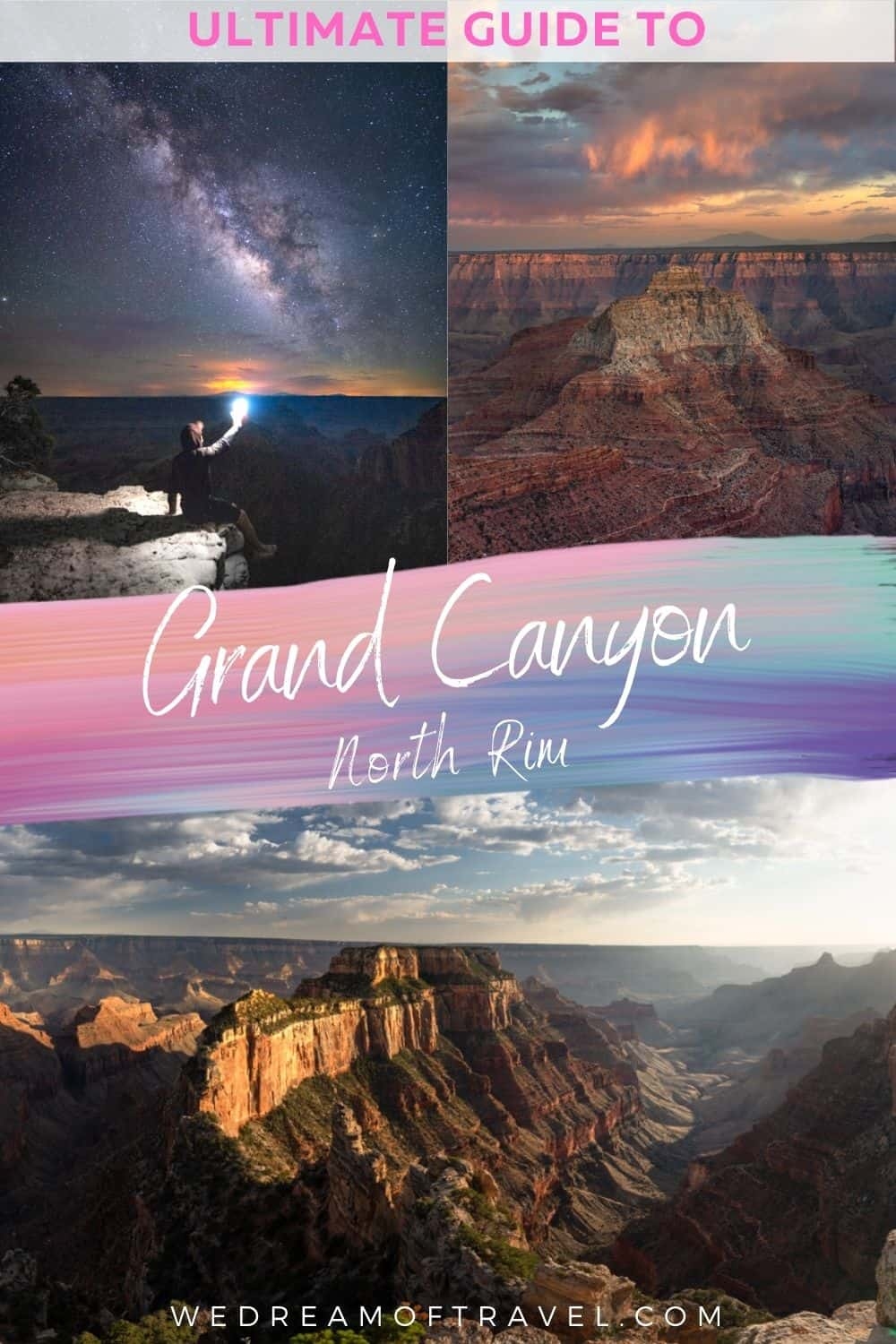 Explore this natural marvel without the crowds.  Only 10% of all visitors to the Grand Canyon visit the North Rim.  Discover all the best things to do in the Grand Canyon North Rim as well as everything you need to know to plan a visit.