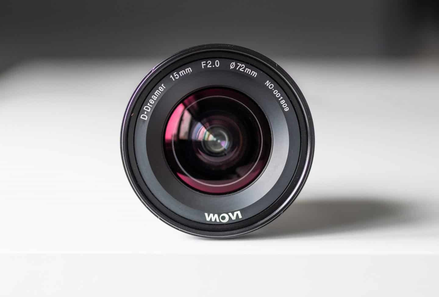 This 15mm F2 wide angle lens was used for a lot of night photography in Grand Canyon.