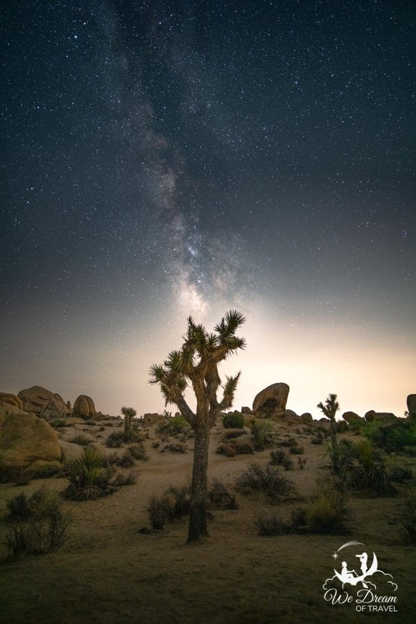 No trip to Joshua Tree is complete without enjoying the night skies.