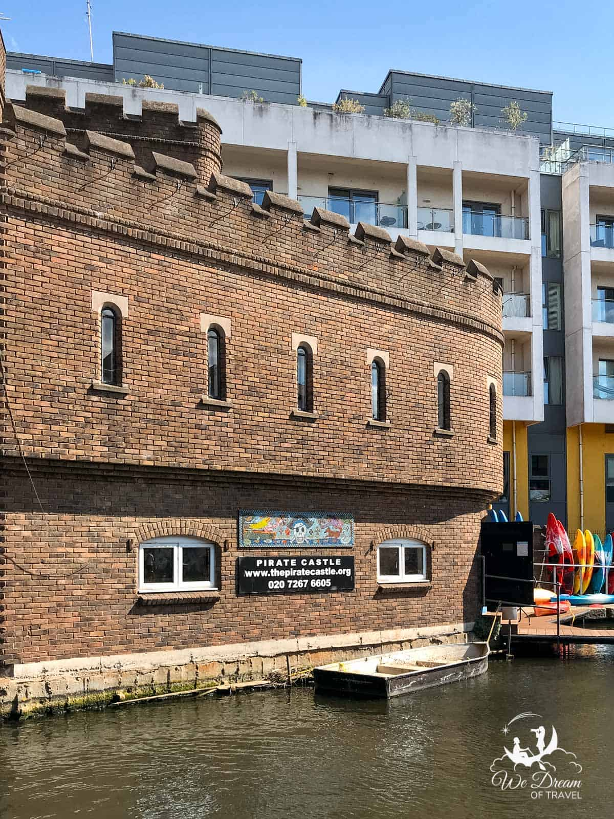 The Pirate Castle on Regent's Canal