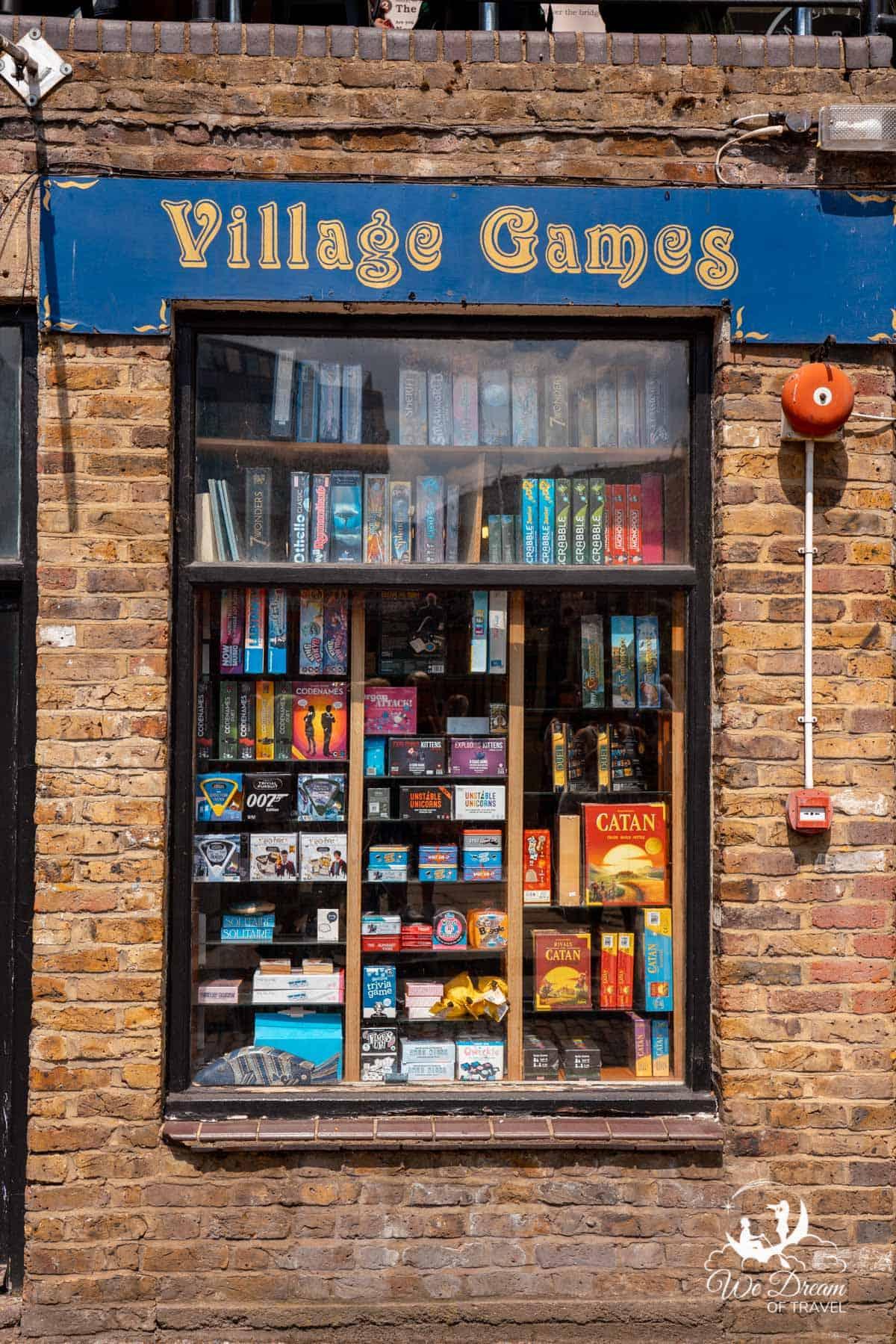 Village Games store in Camden Market London
