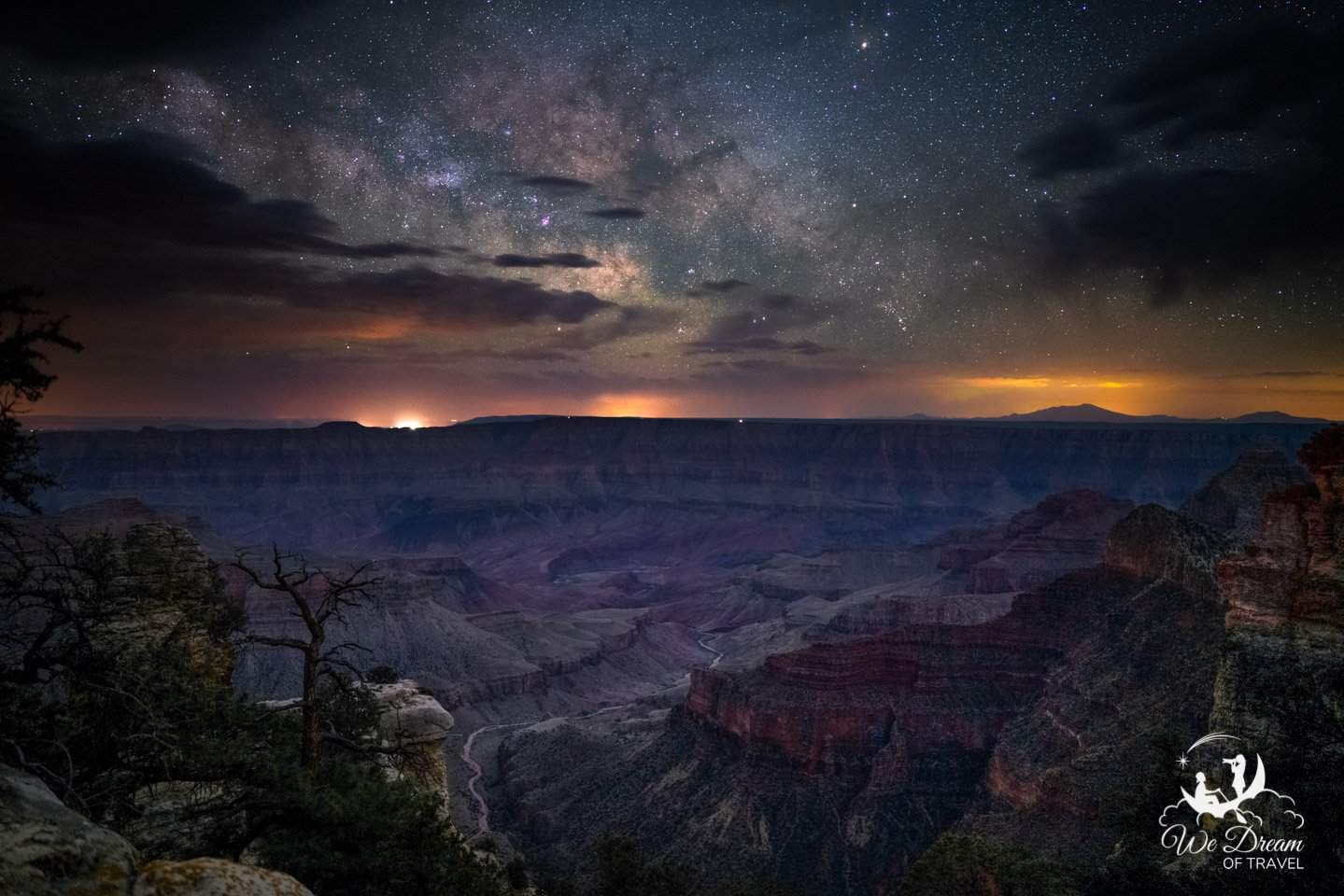 Every night was spent doing night photography, capturing the Milky Way rising over the Grand Canyon North Rim.