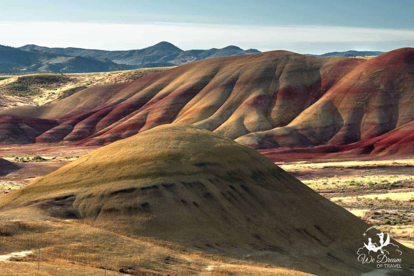 John Day Fossil Beds Painted Hills Unit landscape photography.