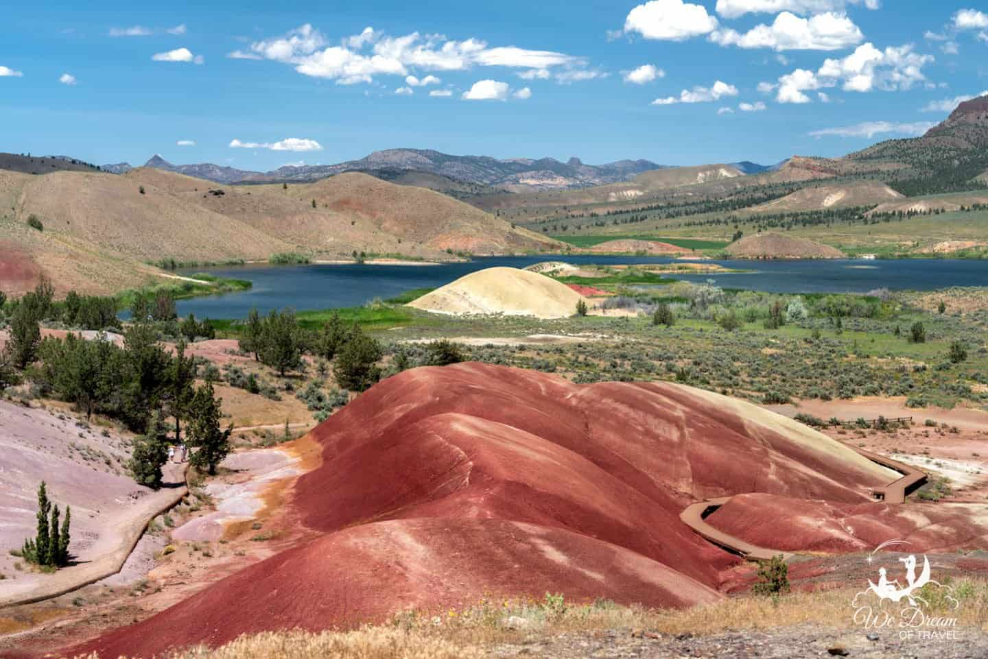 Discover an incredible natural color palette from the Painted Cove Trail.
