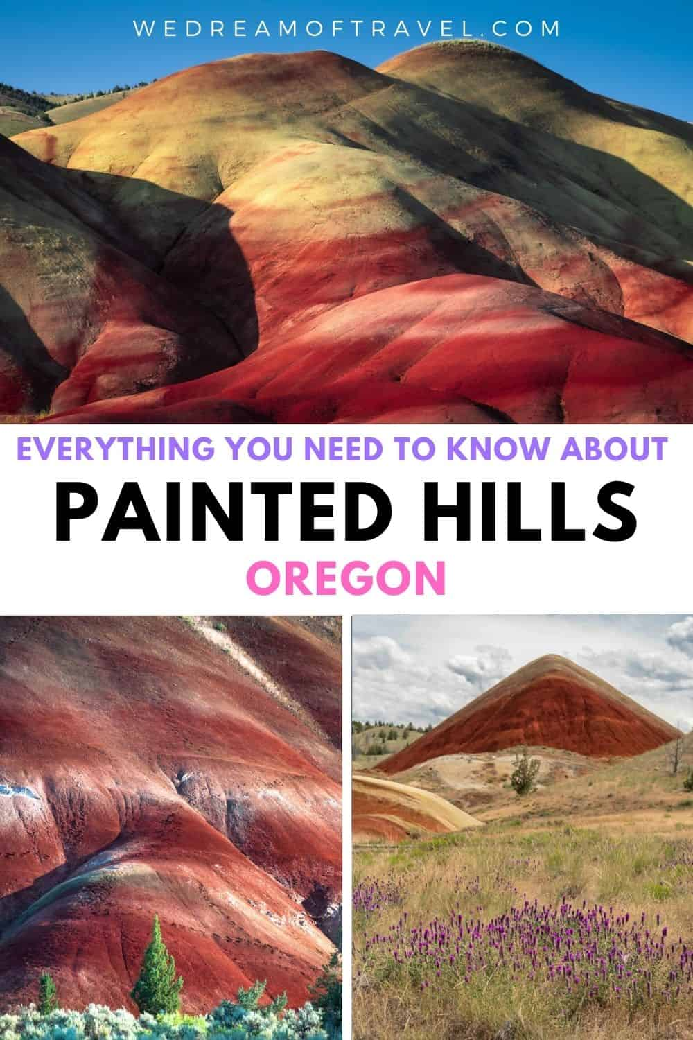 Located within John Day Fossil Beds National Monument, the Painted Hills of Oregon are considered one of the seven wonders of Oregon.  And it's easy to see why!  With otherworldly colorful hills, a visit to the Painted Hills is unlike anything else.  This guide will help you plan your perfect trip to the Painted Hills of Oregon.