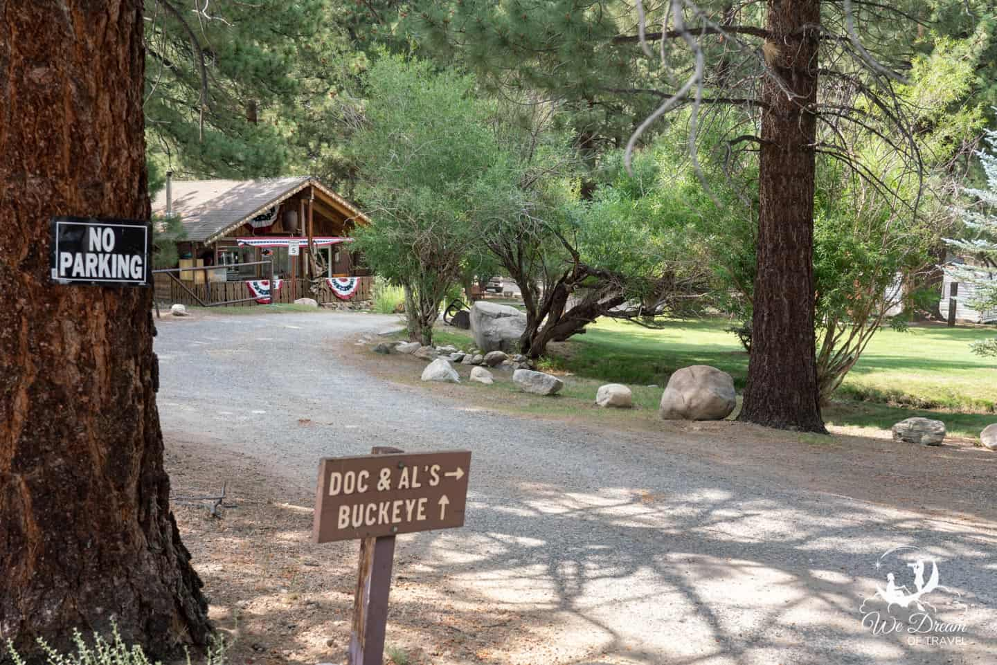 Accommodation near Buckeye Hot Spring is limited, but available.