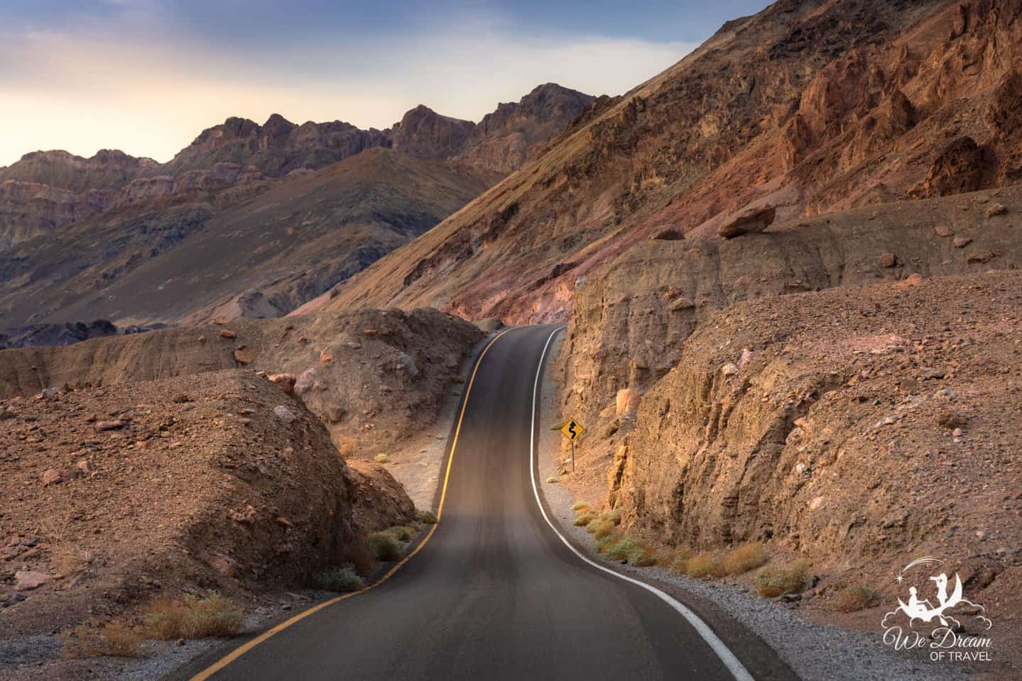 The long and winding roads of Artists Drive deliver you to the incredible color of Artists Palette.