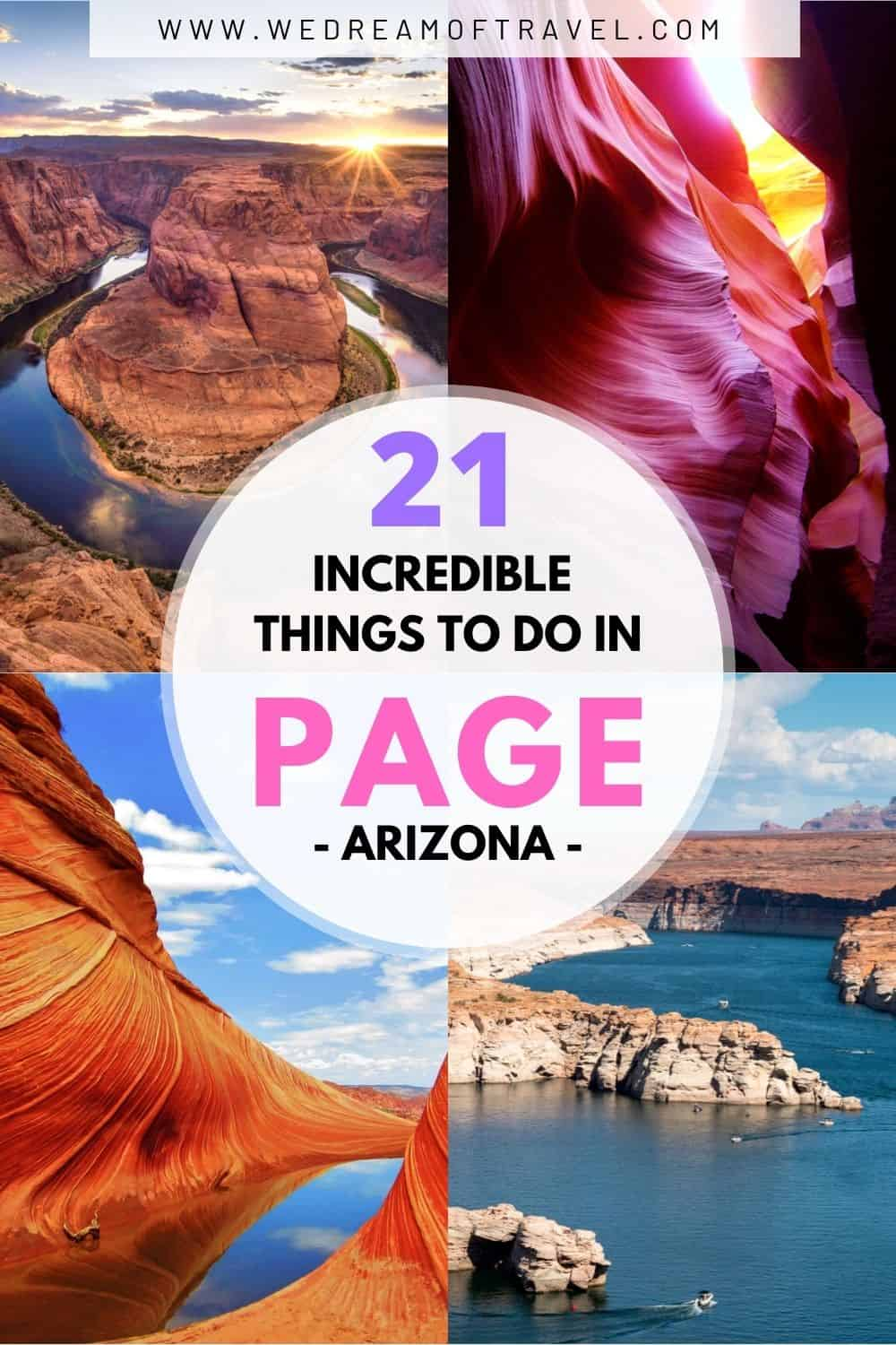 There are more world class things to do in Page, AZ than in any other city in America! Discover all its hidden gems and popular attractions!  From icons such as Horseshoe Bend, Antelope Canyons and The Wave to lesser explored areas.