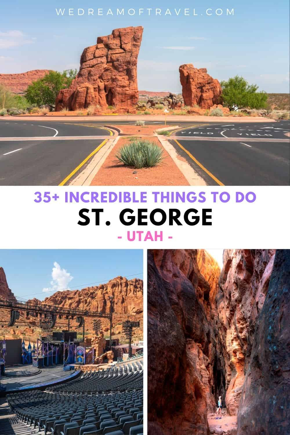 As a gateway to Zion National Park, St George often gets overlooked.  However, you'll find plenty of fun things to do in St George, from incredible hikes, to beautiful state parks, historical downtown, dinosaur footprints and so much more!