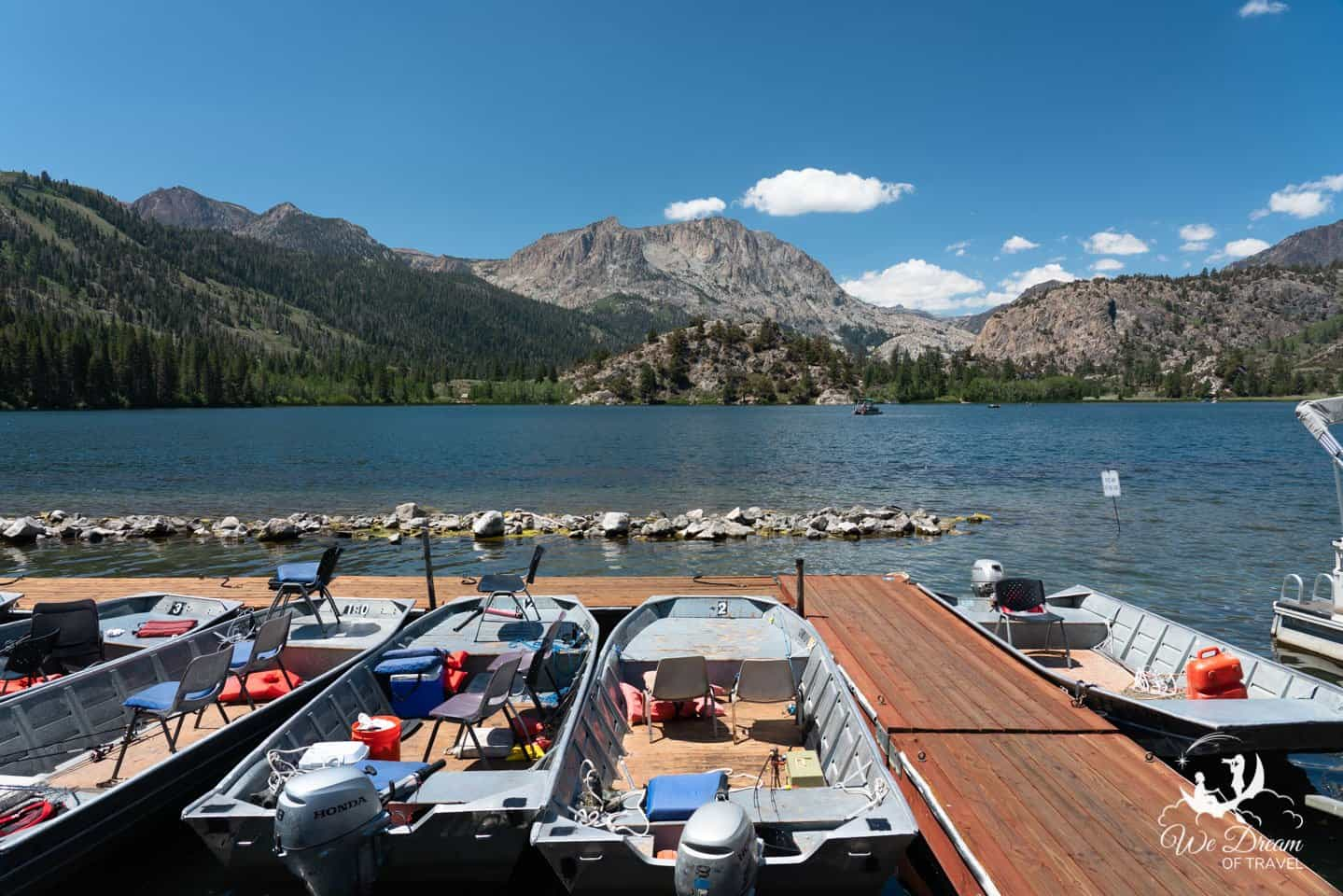 Boating is one of the most popular reasons to head for the June Lakes Loop in the summer.