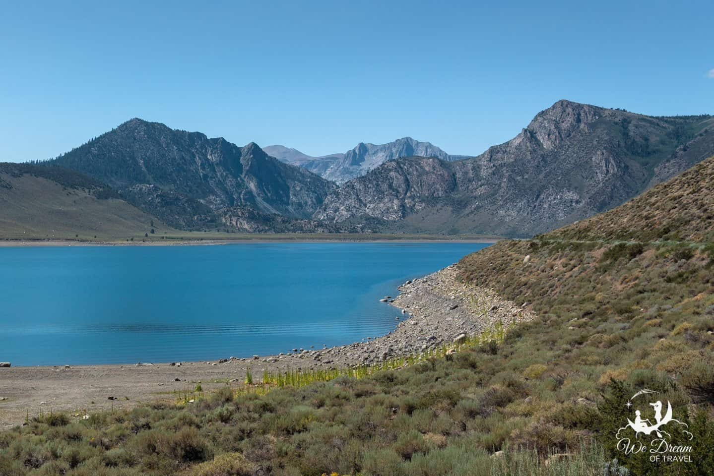 Photography from Grant Lake on the June Lakes Loop scenic drive.
