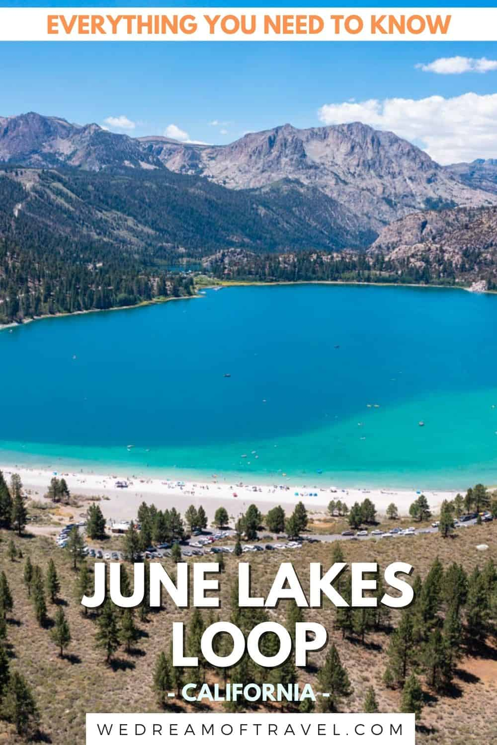 June Lake provides the perfect weekend getaway in California.  The mountain city has plenty of things to do and makes for the perfect stop on your way to Mammoth Lakes or Yosemite too.  Discover everything you need to know about exploring this area and the spectacular June Lakes Loop scenic drive.