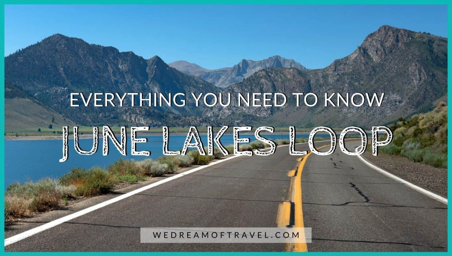 Cover photo for a comprehensive June Lakes Loop guide featuring Grant Lake.