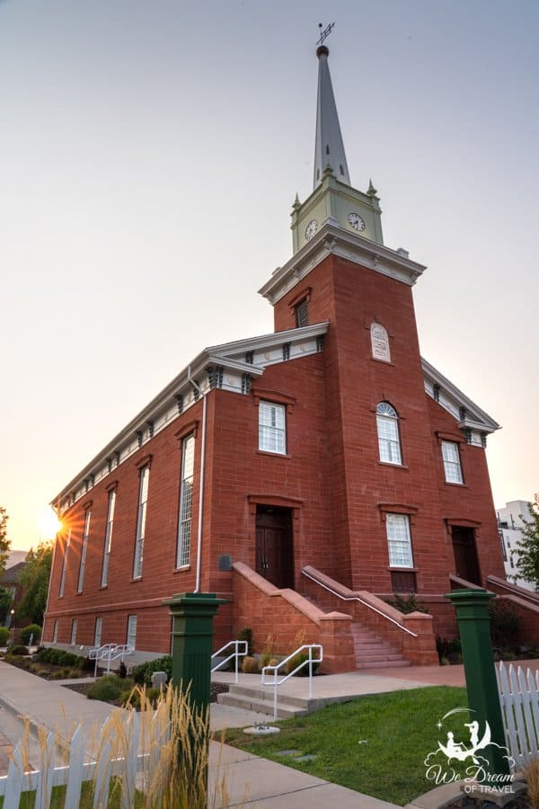 St George Tabernacle is open for tours in St George