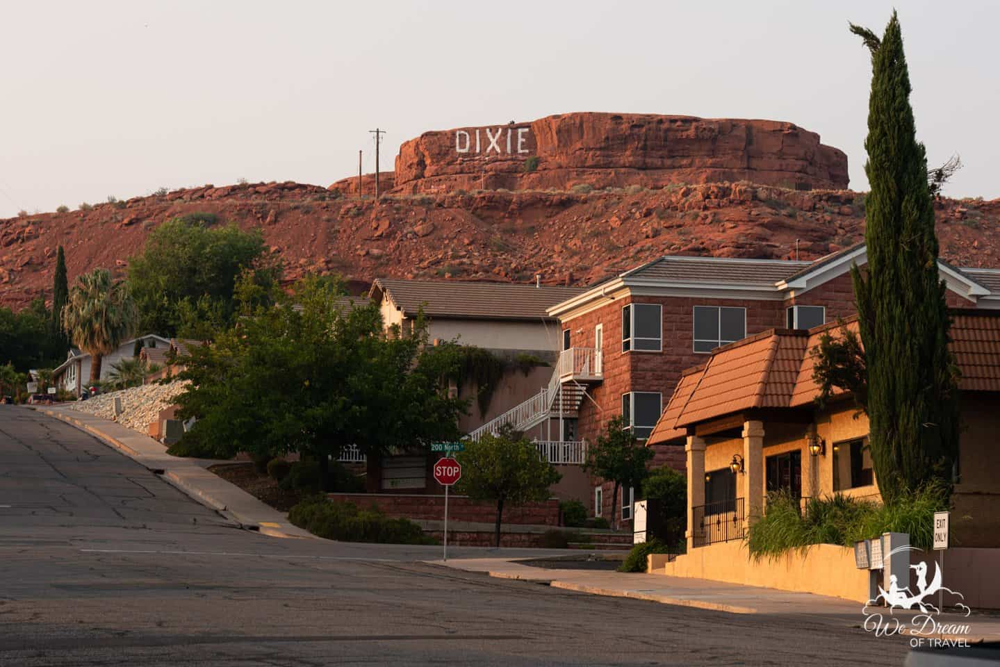 Dixie Sugarloaf in Pioneer Park as seen from downtown.  A popular spot to watch sunset.