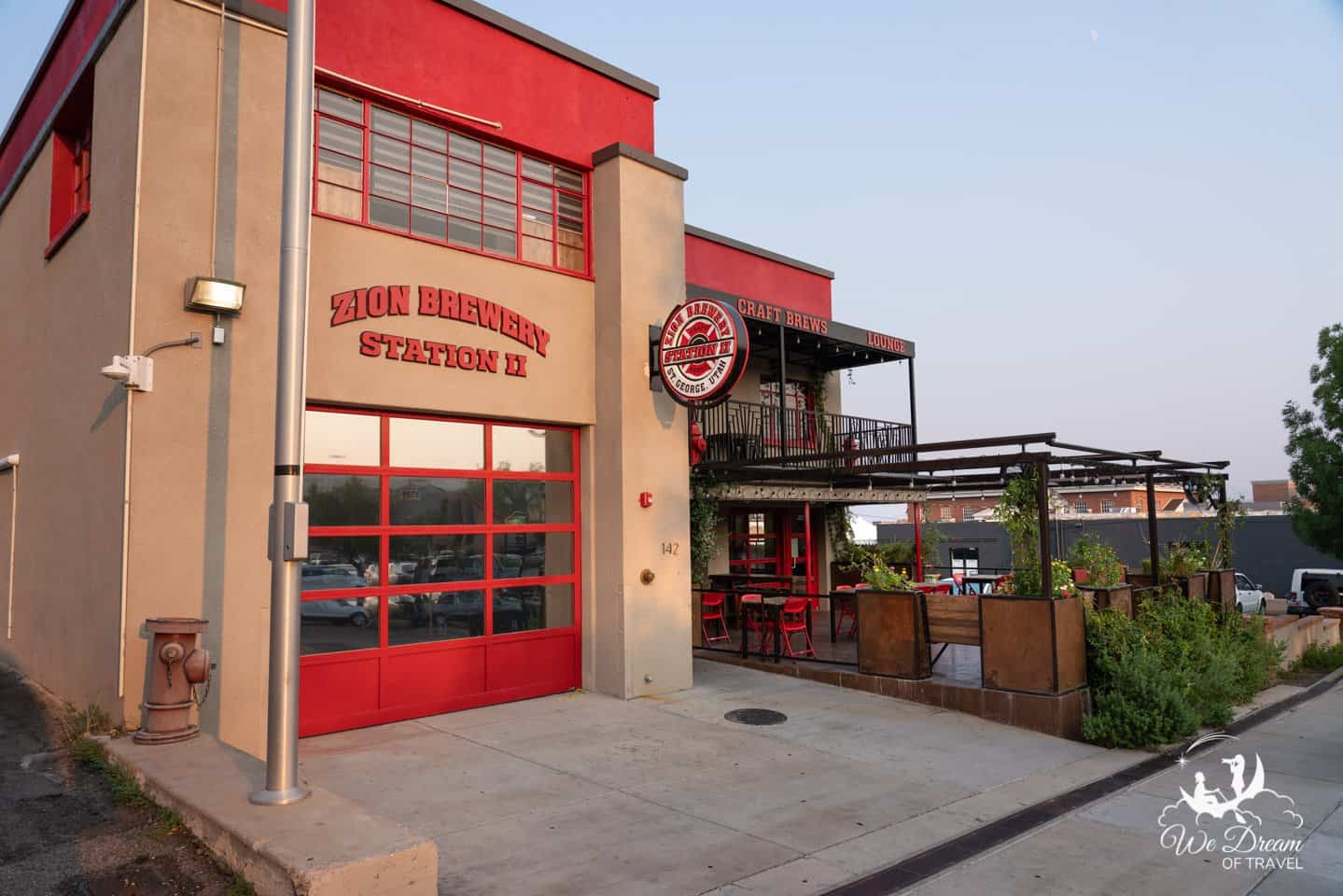 Zion Brewery in St George is housed in the 1918 firehouse