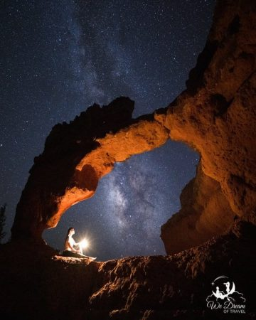 If you enjoy night photography, consider an evening in the Losee Canyon.