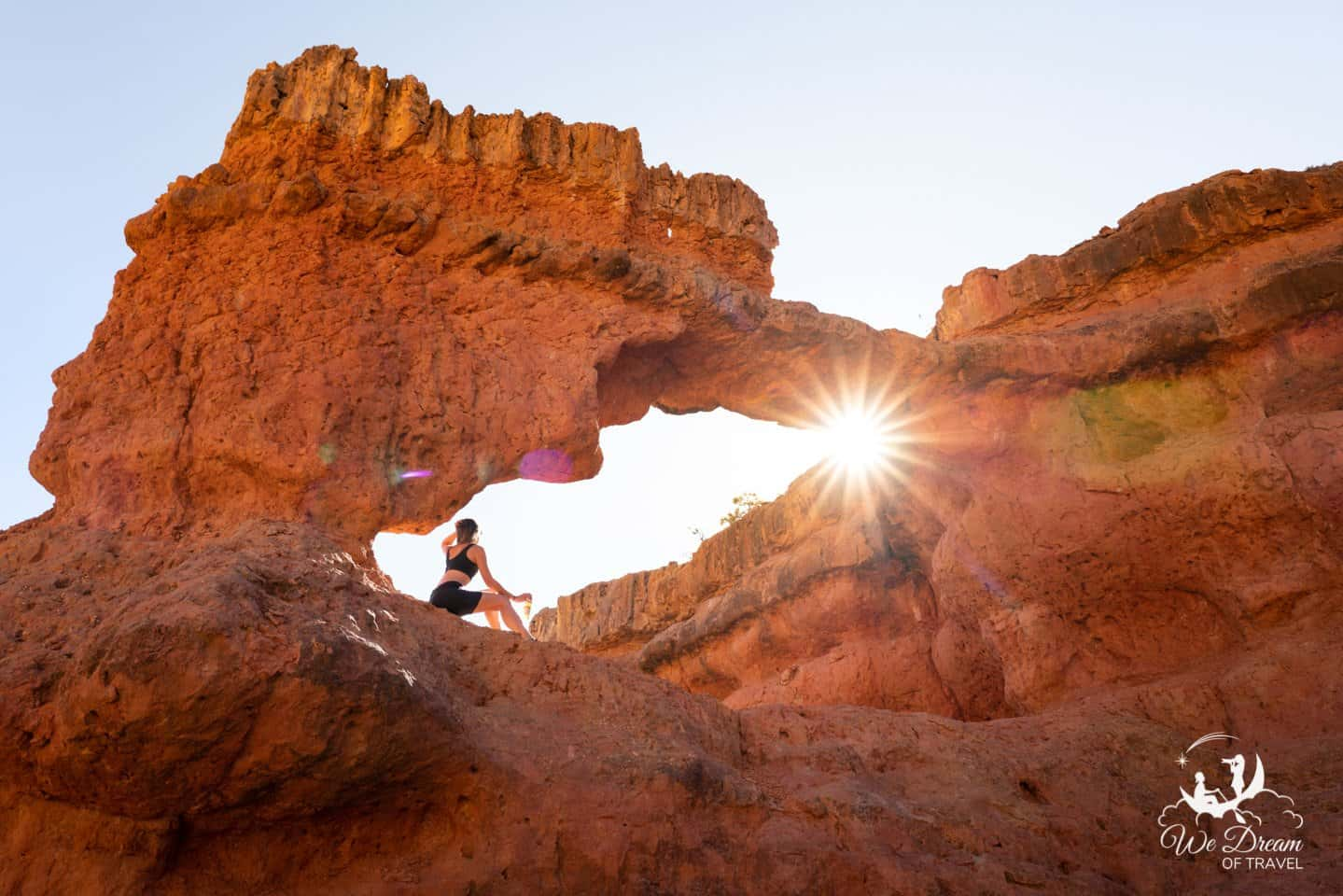 The Arches Trail in Losee Canyon is a must-see on your way to Zion from Bryce Canyon NP.