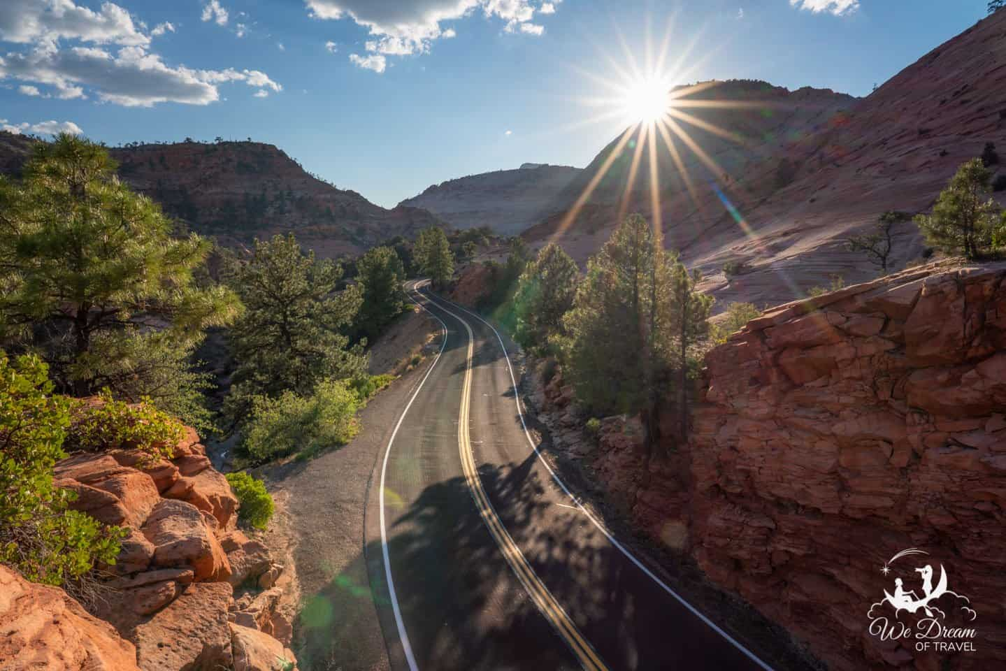 Prepare your camera and itinerary for a lot of unforgettable stops on the way to Zion from Bryce Canyon NP.