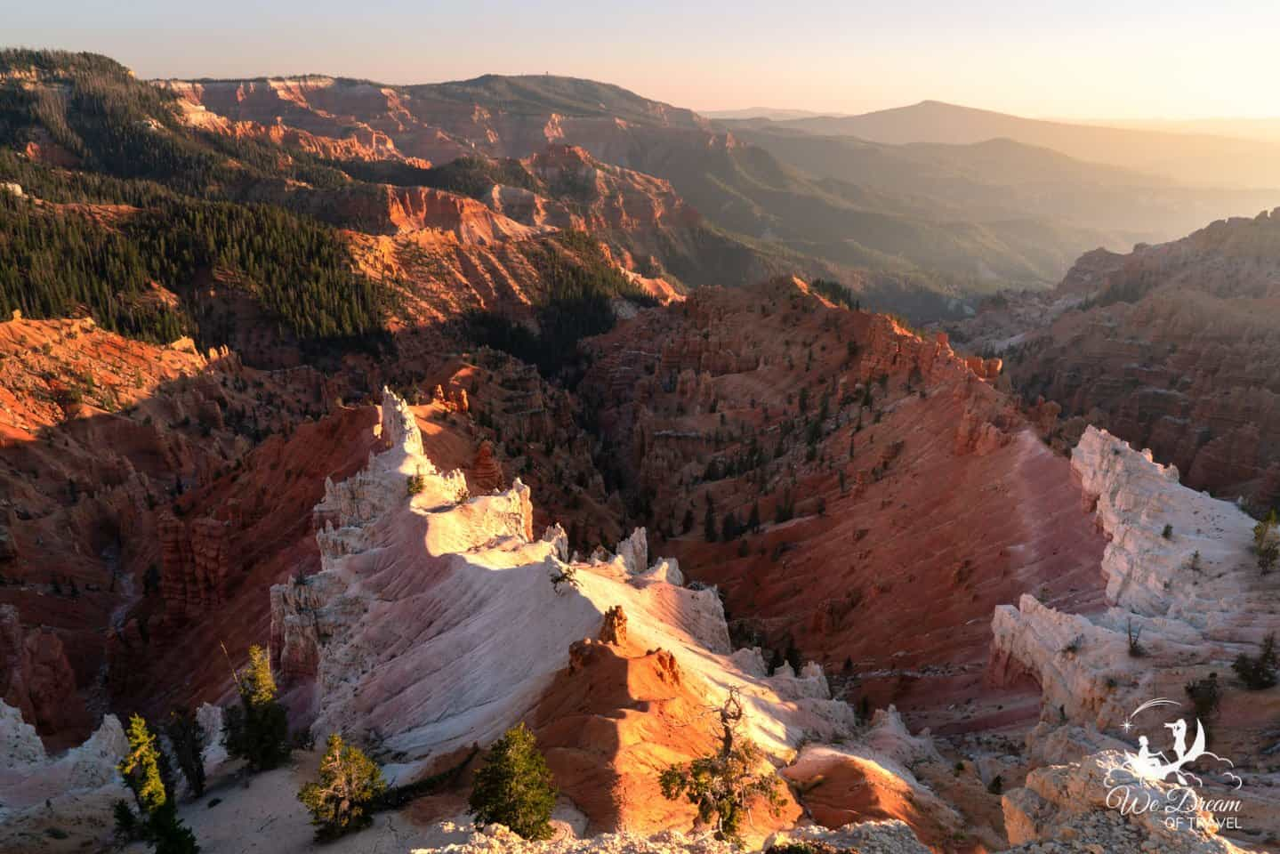 Cedar Breaks National Monument is a true must-see for visitors traveling from Zion to Bryce Canyon NP.