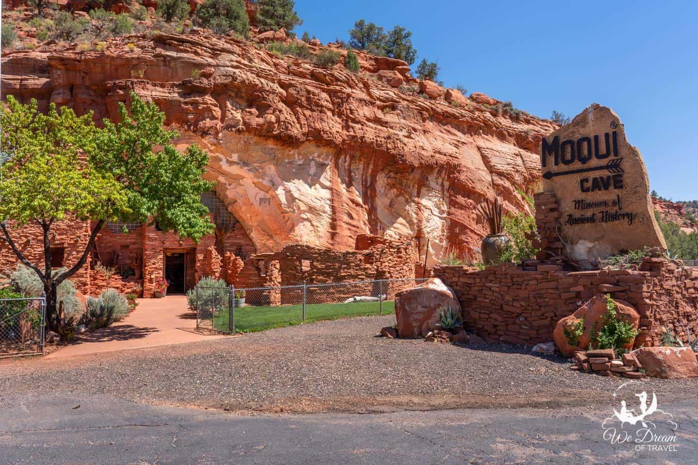 Moqui Cave photo